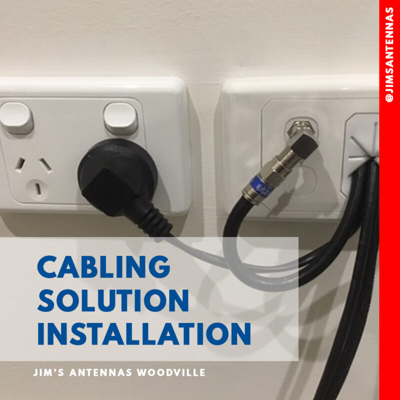 Cabling Solution Installation.