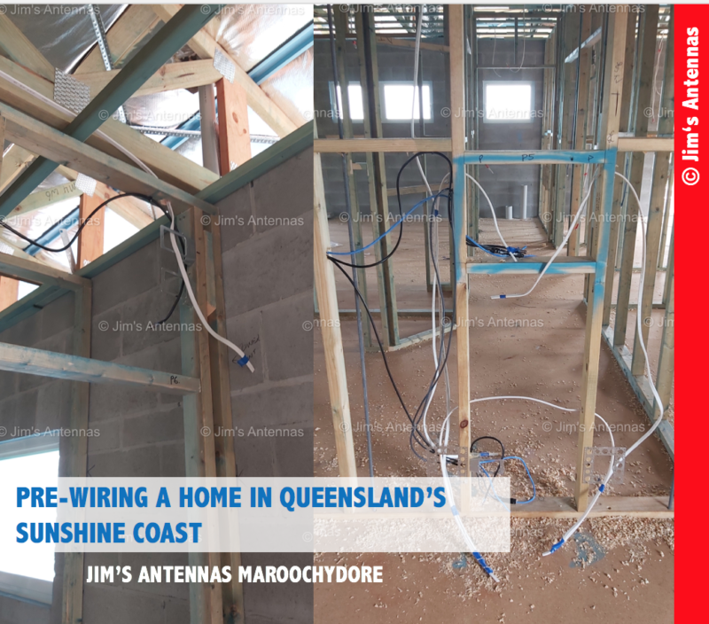 PRE-WIRING A HOME IN QUEENSLAND'S SUNSHINE COAST