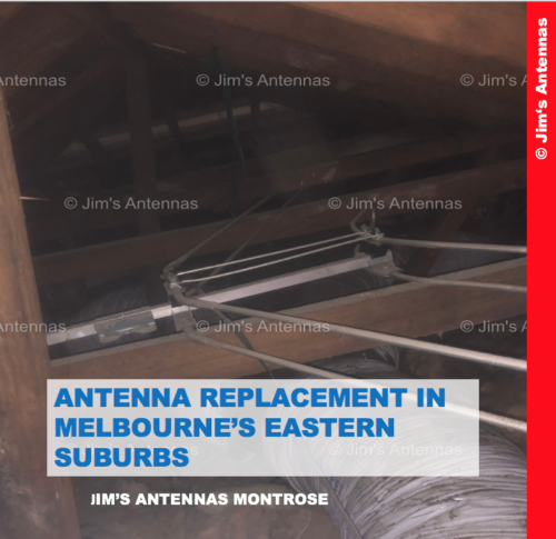 ANTENNA REPLACEMENT IN MELBOURNE'S EASTERN SUBURBS