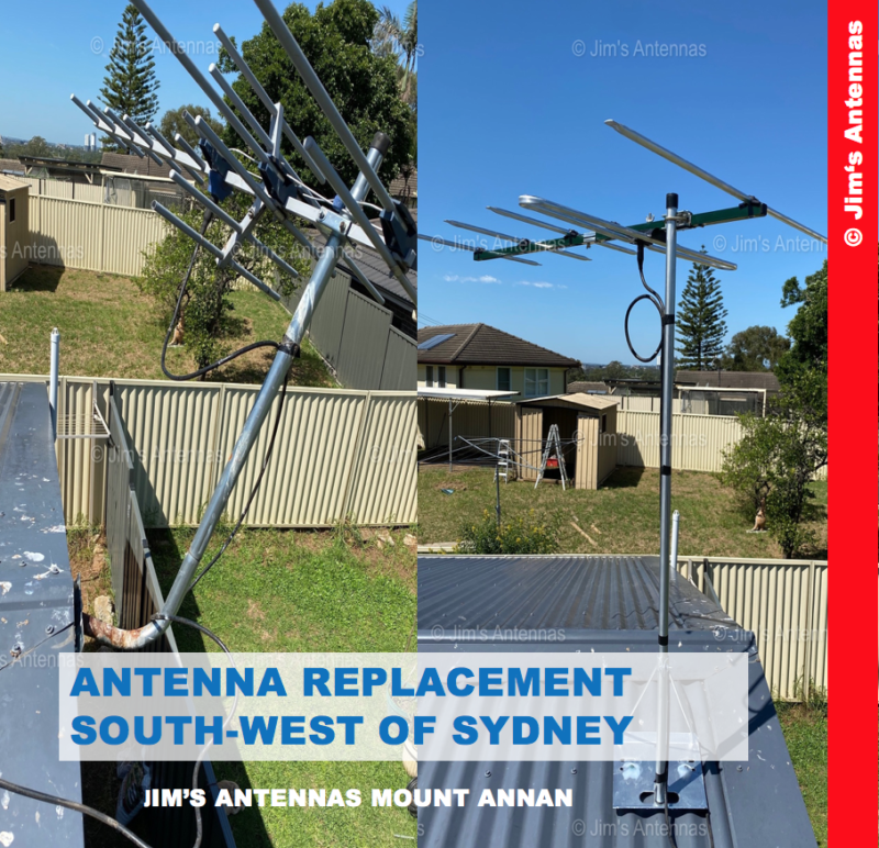 ANTENNA REPLACEMENT SOUTH-WEST OF SYDNEY