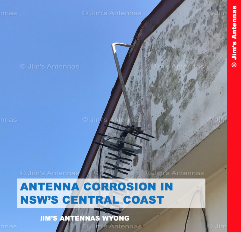 ANTENNA CORROSION IN NSW'S CENTRAL COAST