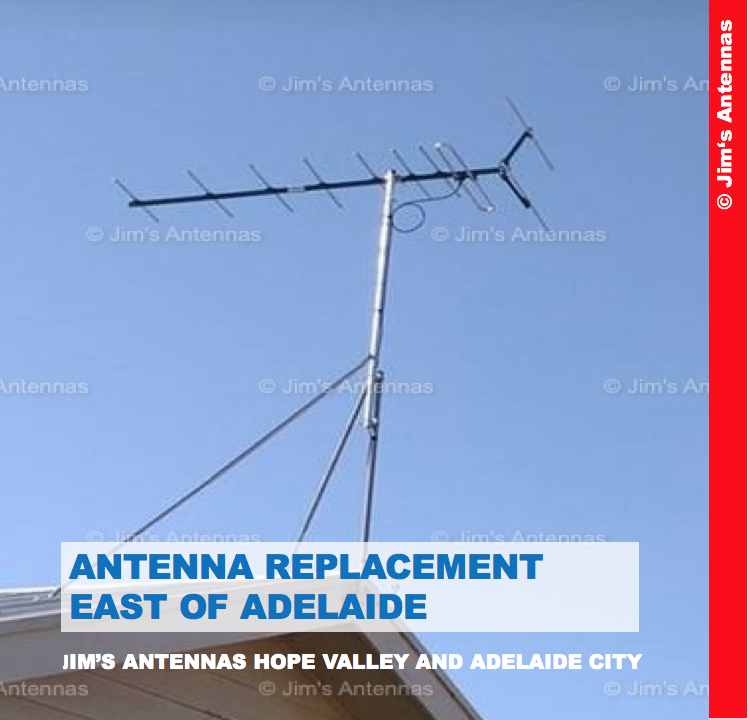 ANTENNA REPLACEMENT EAST OF ADELAIDE