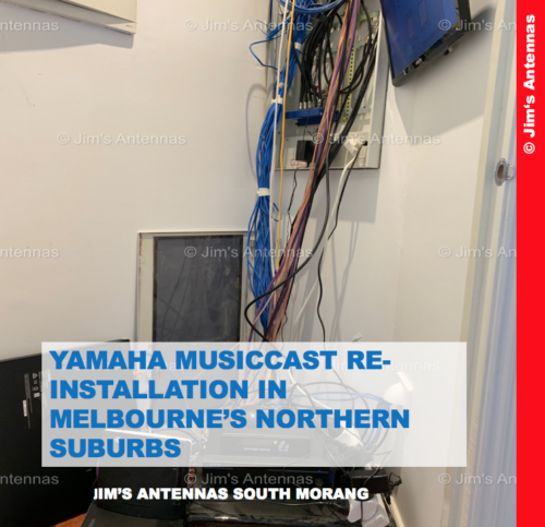 YAMAHA MUSICCAST RE-INSTALLATION IN MELBOURNE'S NORTHERN SUBURBS
