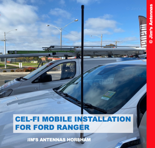 CEL-FI MOBILE INSTALLATION FOR FORD RANGER