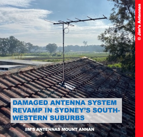 DAMAGED ANTENNA SYSTEM REVAMP IN SYDNEY'S SOUTH-WESTERN SUBURBS