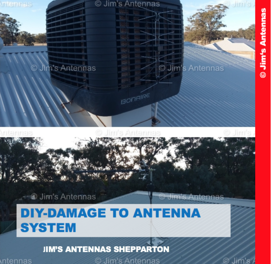 DIY Damage Repair to Antenna System in Northern Victoria