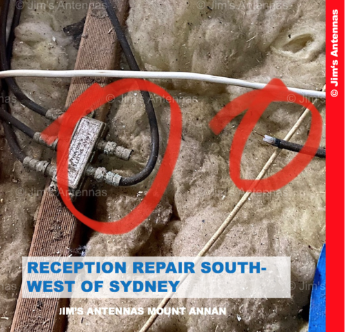 TV RECEPTION REPAIR SOUTH-WEST OF SYDNEY