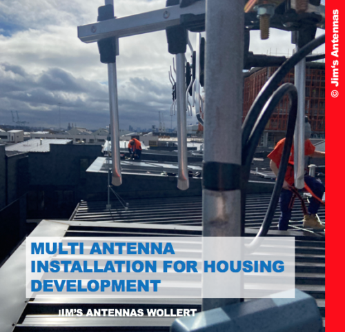 MULTI ANTENNA INSTALLATION FOR HOUSING DEVELOPMENT