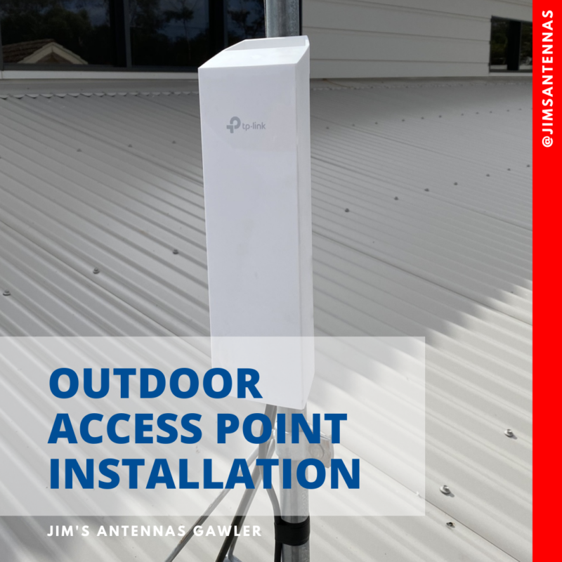 Outdoor access point installation!