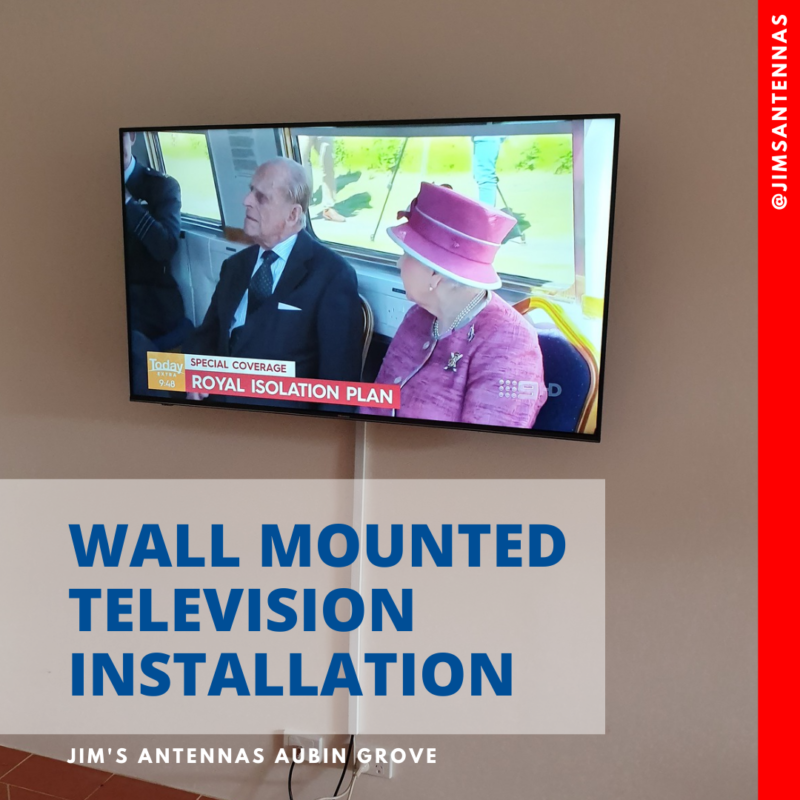 TV wall mount in Roleystone.