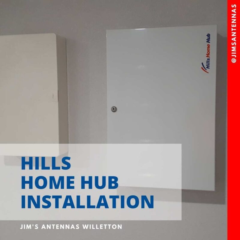 Hills home hub installation in Claremont.
