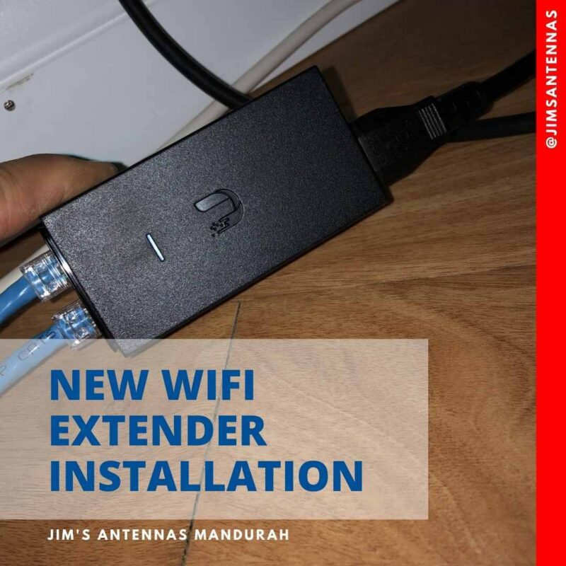 Wifi extender installation in Safety Bay