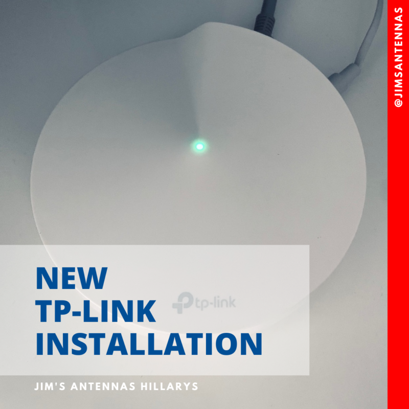 New TP-Link installation is Craigie.